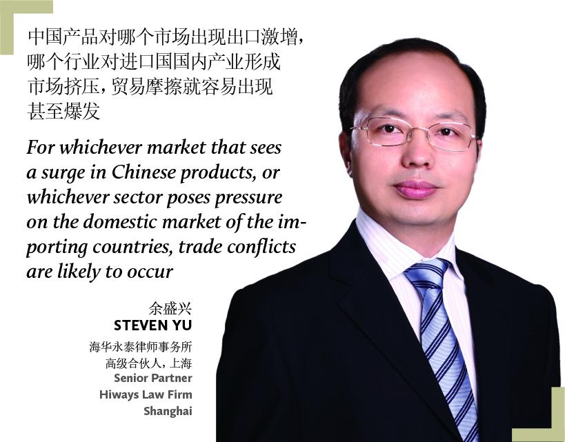 Steven Yu Senior Partner Hiways Law Firm Shanghai