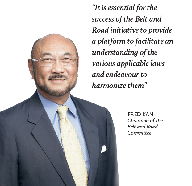 Fred Kan, Chairman of the Belt and Road Committee