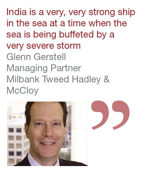 Glenn Gerstell Managing Partner Milbank Tweed Hadley & McCloy