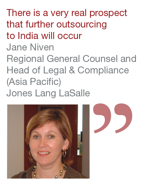 Jane Niven Regional General Counsel Head of Legal & Compliance (Asia Pacific) Jones Lang LaSalle