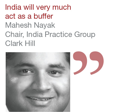 Mahesh Nayak Chair, India Practice Group, Clark Hill