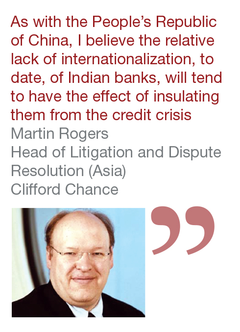 Martin Rogers Head of Litigation and Dispute Resolution (Asia) Clifford Chance