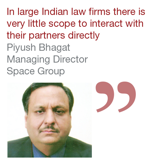 Piyush Bhagat Managing Director Space Group