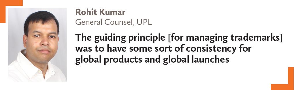 Rohit Kumar, General Counsel, UPL