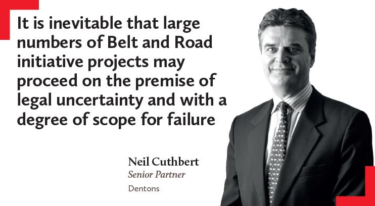 Neil Cuthbert, Senior Partner, Dentons