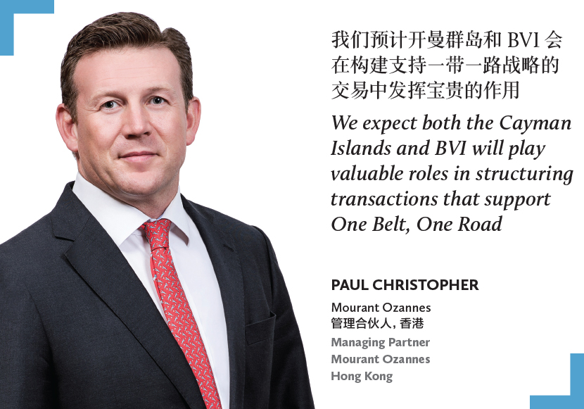 Paul Christopher, Managing partner, Mourant Ozannes
