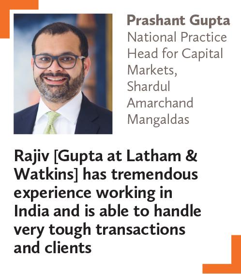 Prashant Gupta, National Practice Head for Capital Markets, Shardul Amarchand Mangaldas