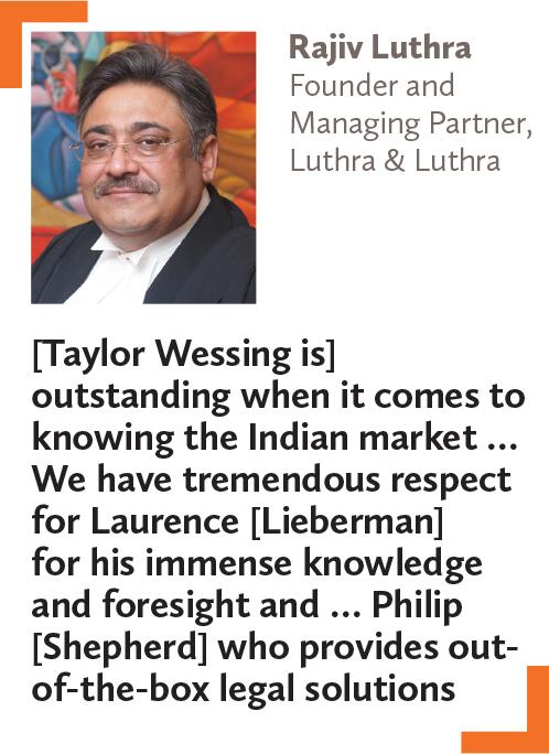 Rajiv Luthra, Founder and Managing Partner, Luthra & Luthra