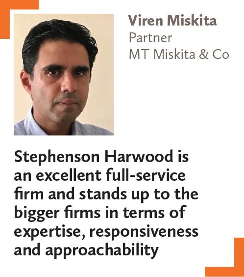 Viren Miskita, Partner, MT Miskita & Co
