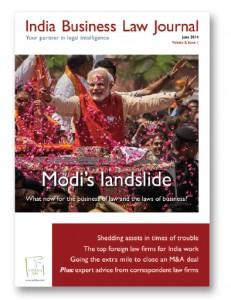 Cover - Modi's landslide