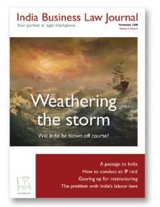 Cover - Weathering the storm