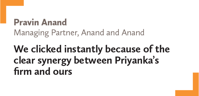Pravin Anand, Managing Partner, Anand and Anand