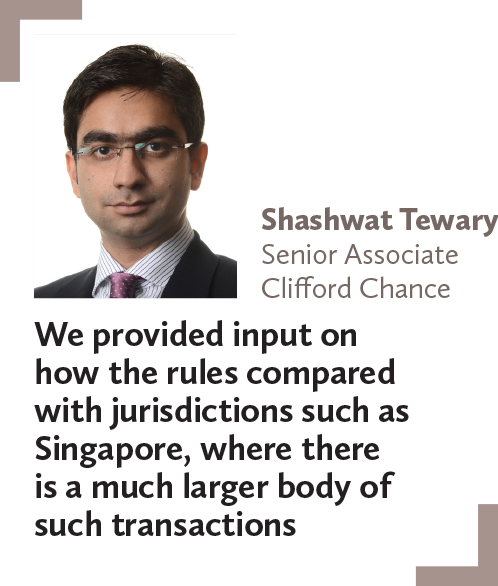Shashwat Tewary, Senior Associate, Clifford Chance