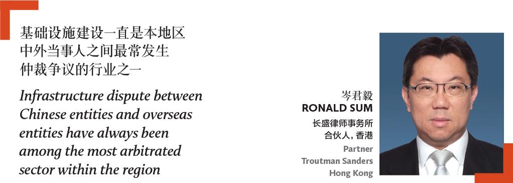 岑君毅 Ronald Sum 长盛律师事务所 合伙人,香港 Partner Troutman Sanders Hong Kong