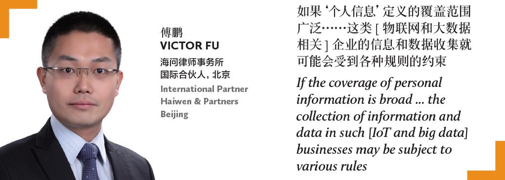 傅鹏 Victor Fu 海问律师事务所 国际合伙人,北京 International Partner Haiwen & Partners Beijing