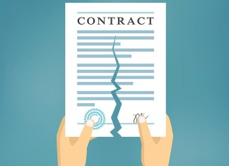 Contract cancellation can forfeit performance guarantee amount
