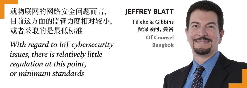 Jeffrey Blatt Tilleke & Gibbins 资深顾问,曼谷 Of Counsel Bangkok