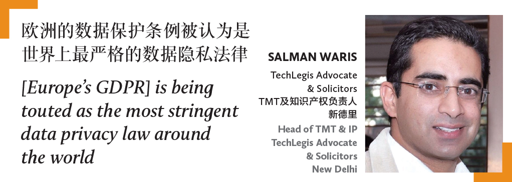 Salman Waris TechLegis Advocate & Solicitors TMT及知识产权负责人 新德里 Head of TMT & IP TechLegis Advocate & Solicitors New Delhi