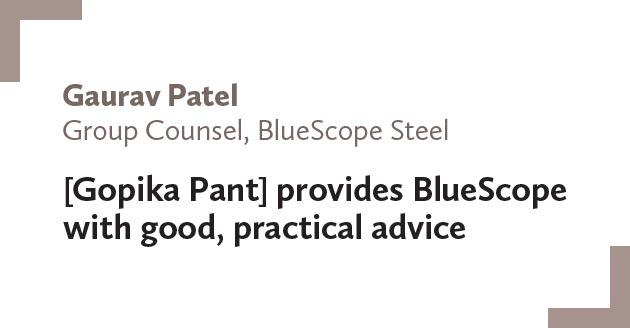 Gaurav-Patel,-Group-Counsel,-BlueScope-Steel
