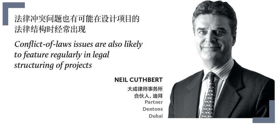 NEIL CUTHBERT 大成律师事务所 合伙人,迪拜 Partner Dentons Dubai
