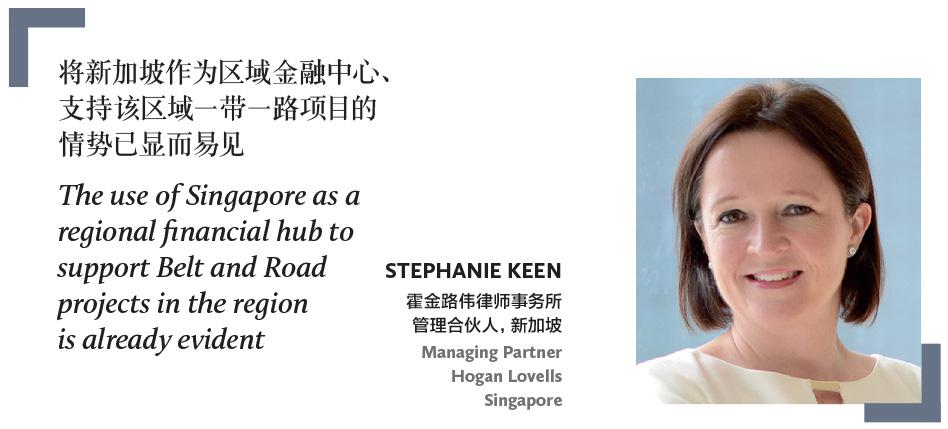 STEPHANIE KEEN 霍金路伟律师事务所 管理合伙人,新加坡 Managing Partner Hogan Lovells Singapore
