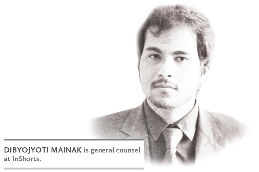 DIBYOJYOTI MAINAK is general counsel at InShorts.