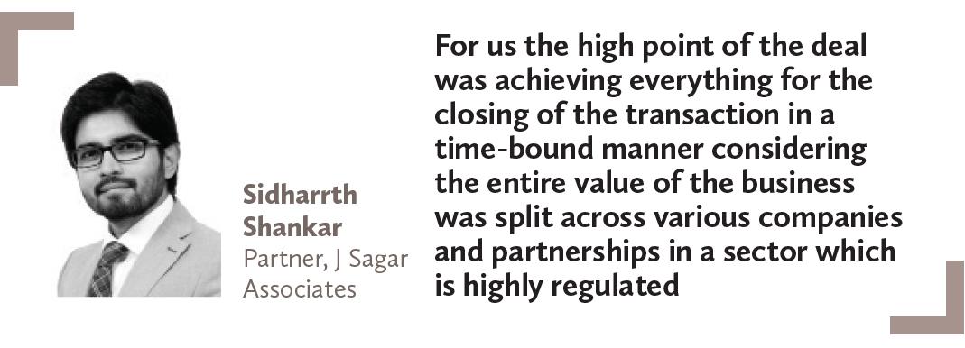 Sidharrth Shankar Partner, J Sagar Associates
