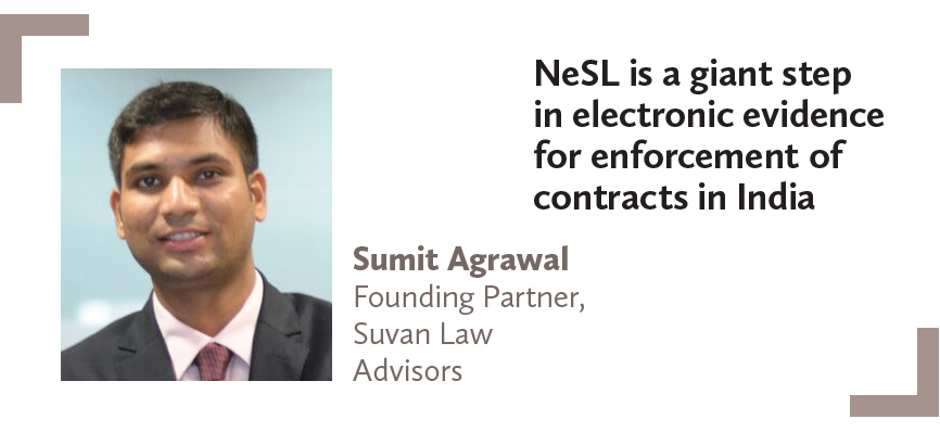 Sumit Agrawal Founding Partner, Suvan Law Advisors