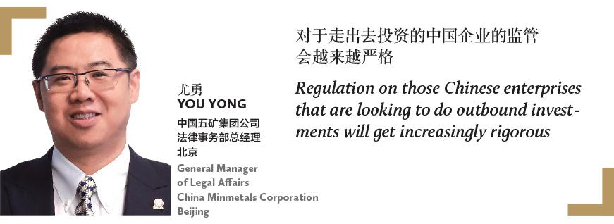尤勇 YOU YONG 中国五矿集团公司 法律事务部总经理 北京 General Manager of Legal Affairs China Minmetals