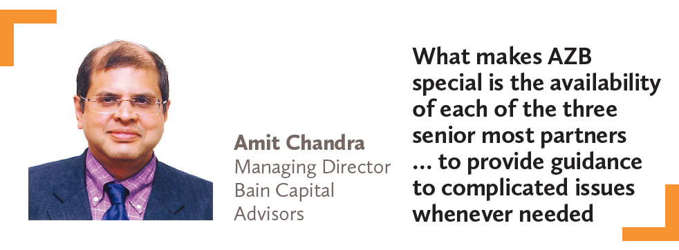 Amit Chandra Managing Director Bain Capital Advisors