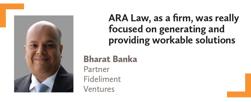 Bharat Banka Partner Fideliment Ventures