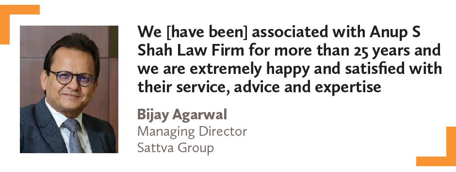 Bijay Agarwal Managing Director Sattva Group
