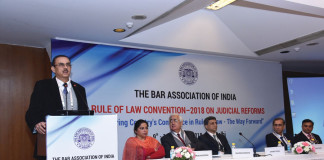 The Bar Association of India organized its annual Rule of Law conference
