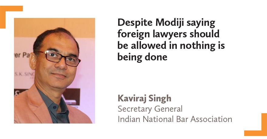 Kaviraj Singh Secretary General Indian National Bar Association