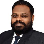 Karthik Somasundram, Bharucha & Partners