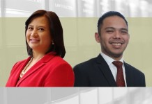 Aida-Araceli-G-Roxas-Rivera-Senior-Partner,-Paolo-S-Tamase-Associate-at-Cruz-Marcelo-&-Tenefrancia-in-Manila
