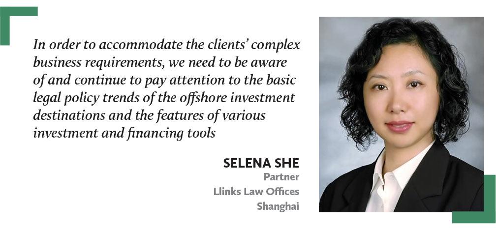 佘铭-SELENA-SHE-通力律师事务所-合伙人,上海-Partner-Llinks-Law-Offices-Shangha