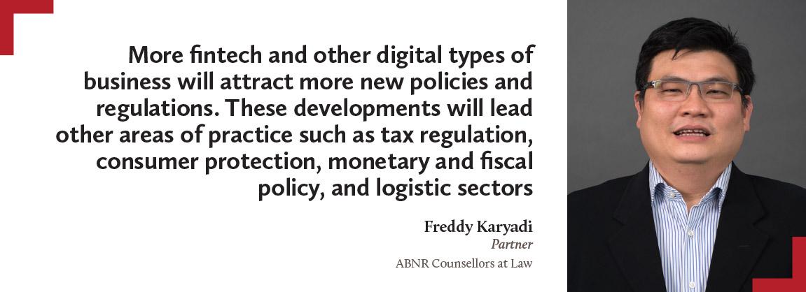 Freddy Karyadi, ABNR Counsellors at Law