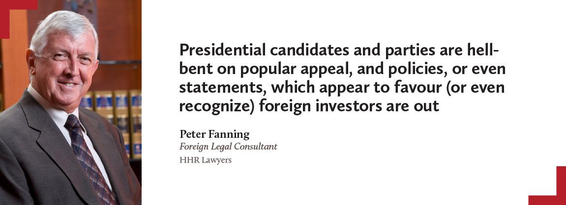 Peter Fanning, HHR Lawyers