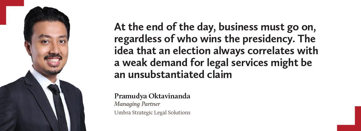Pramudya Oktavinanda, Umbra Strategic Legal Solutions