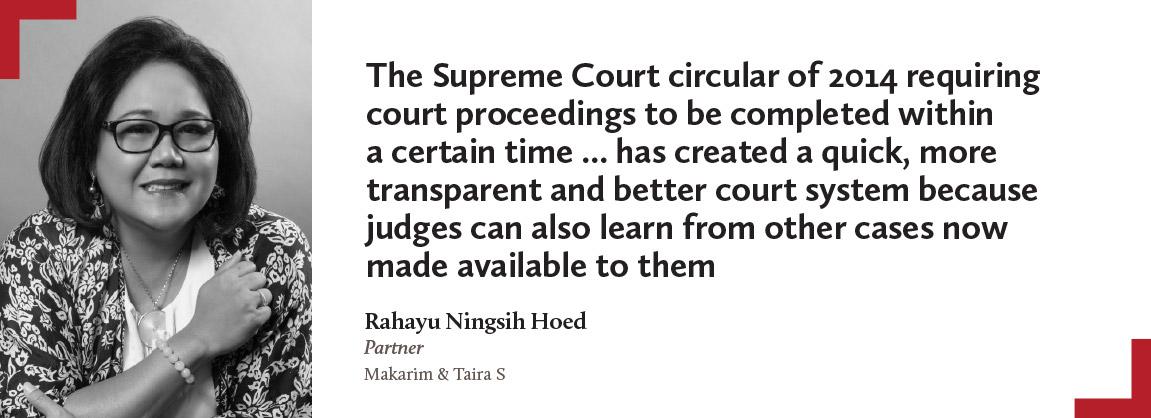Rahayu Ningsih Hoed, Makarim & Taira S