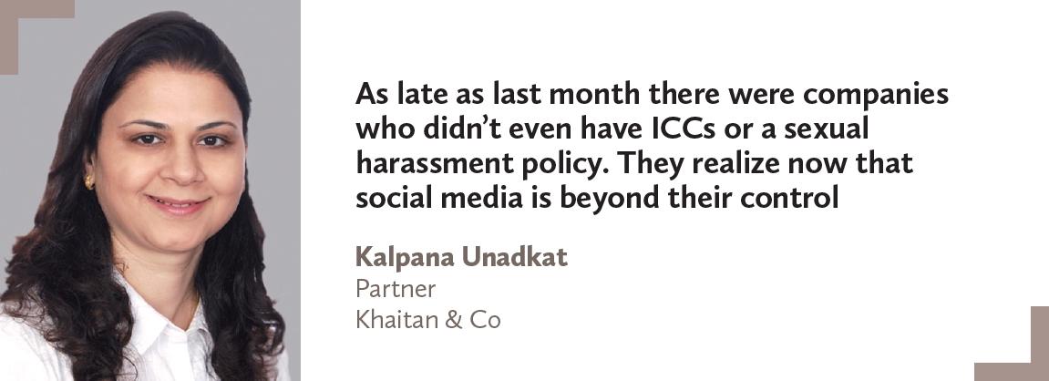 Kalpana Unadkat, Khaitan & Co