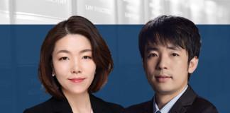 Li Jie and Zhang Han at Wanhuida Peksung IP Group