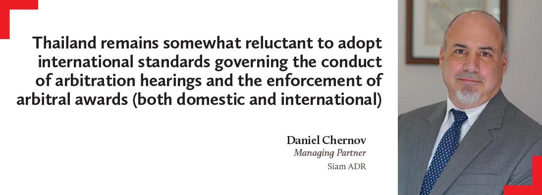Daniel Chernov, Siam ADR