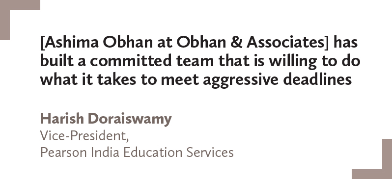 Harish Doraiswamy, Pearson India Education Services