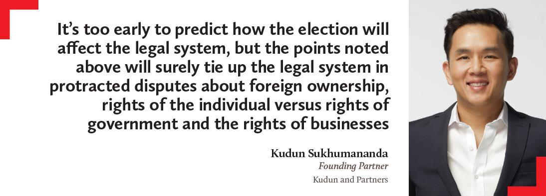 Kudun Sukhumananda, Kudun and Partners
