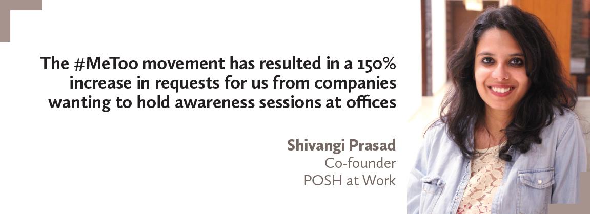 Shivangi Prasad, POSH at Work