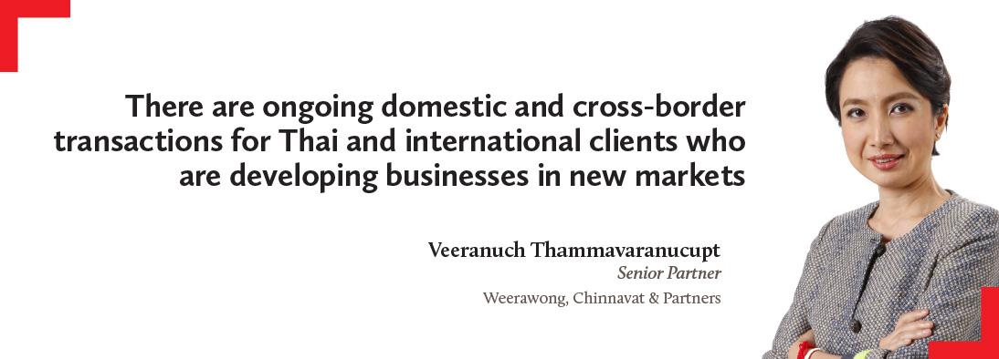 Veeranuch Thammavaranucupt, Weerawong, Chinnavat & Partners
