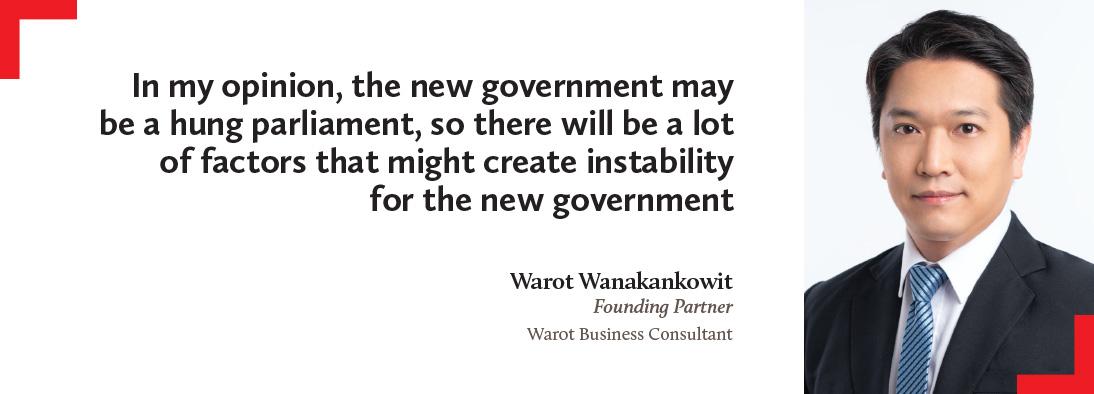 Warot Wanakankowit, Warot Business Consultant