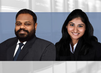 Karthik Somasundram and Sneha Jaising, Bharucha & Partners